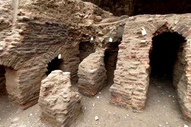 Ruinas romanas en perfecto estado de conservación son descubiertas en pleno centro de Amán en Jordania
