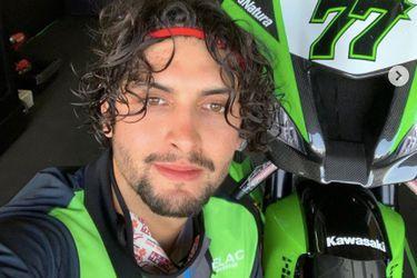 """Maxi Scheib: """"Tuve más caídas de la cuenta, quise andar más allá de la capacidad de la moto"""""""
