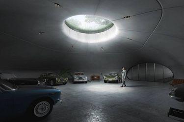 Crean estacionamiento subterráneo inspirado en Bond, James Bond