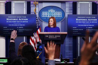 Comienza la era Biden: El debut del equipo de comunicaciones femenino de la Casa Blanca
