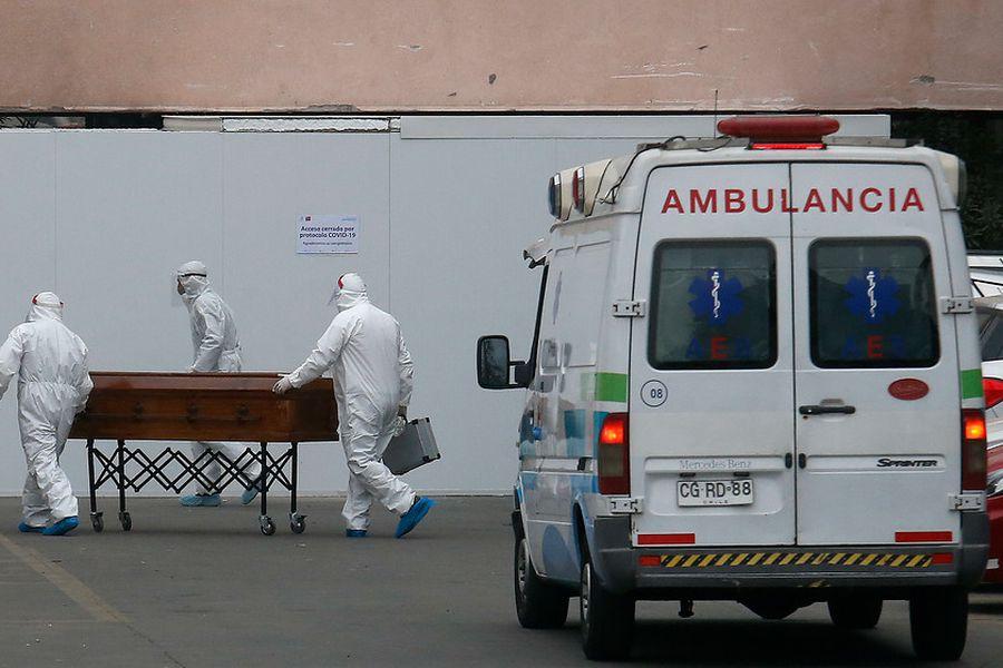 DEIS: Fallecidos por coronavirus.