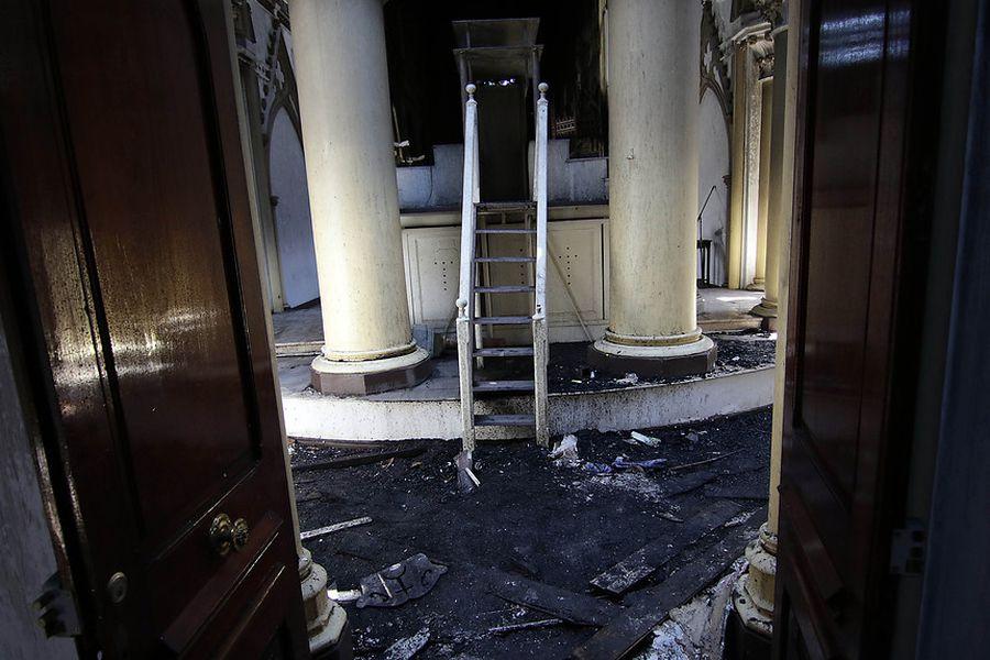 Iglesia atacada