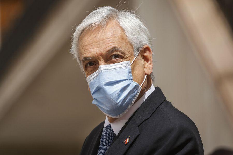 Sebastián Piñera en La Moneda.