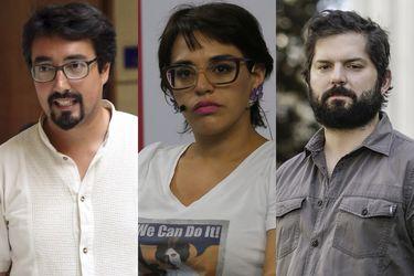 """¿Boric, Latorre y Oliva? El """"Plan C"""" que mira el Frente Amplio ante el desolador panorama presidencial"""