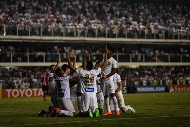 Santos vs Estudiantes