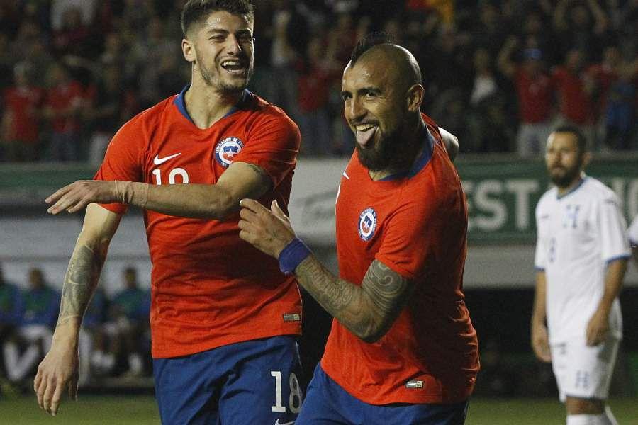 Chile vs Hondura, amistoso 2018