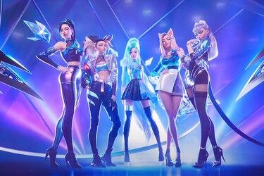 K/DA, el grupo de personajes de League of Legends lanza su nuevo video musical