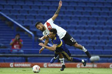 Paulo Díaz fue el villano invitado en el empate de Boca y River