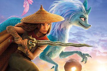 Disney reveló el precio y las opciones para ver 'Raya y el último dragón' en Chile
