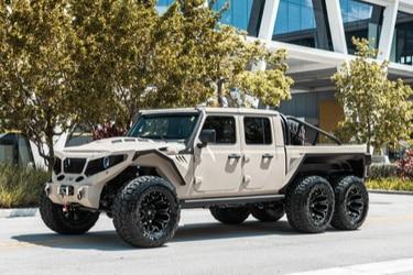 Apocalypse Sinister 6: llega a Chile una impactante camioneta 6x6 digna del fin de los tiempos