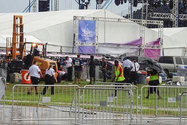 Backstreet Boys: derrumbe de plataforma antes de concierto deja 14 heridos