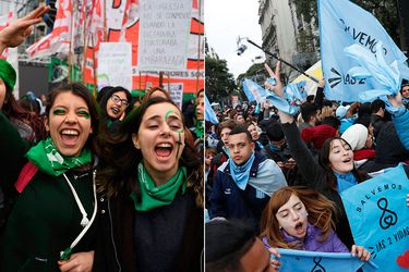 Argentina reinicia debate del proyecto de aborto por octava vez