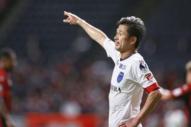 Récord de longevidad en la liga japonesa: delantero es titular a los 53 años
