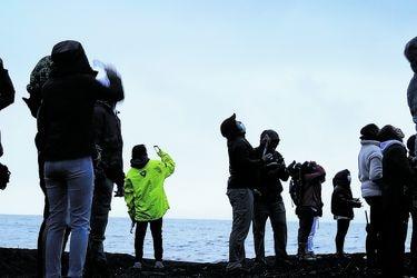 Seis imágenes que dejó el eclipse