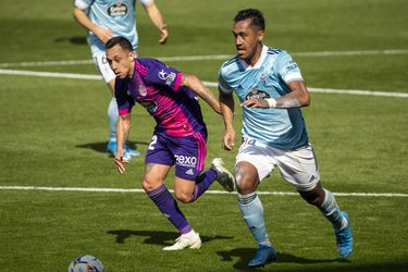 Fabián Orellana anota y alcanza el registro goleador de Alexis en La Liga