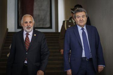 Presidente de la Corte Suprema y fiscal nacional respaldan acuerdo por la paz tras reunión con Piñera
