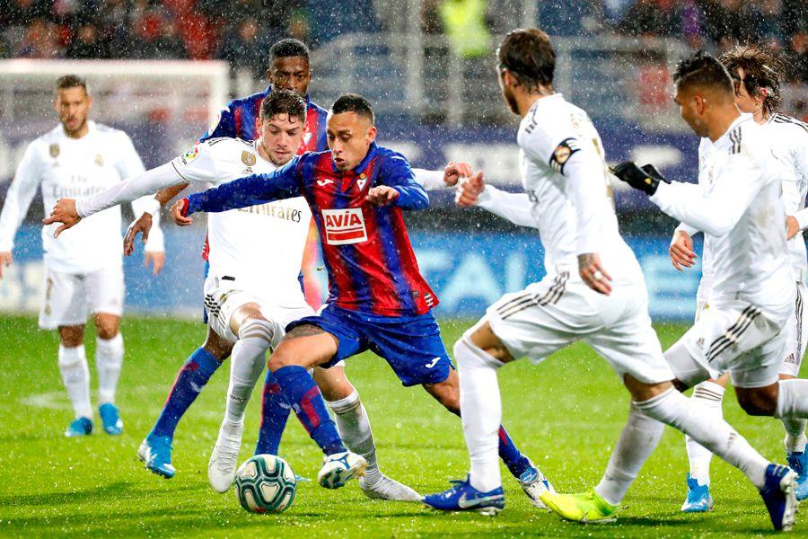 Fabián Orellana, Eibar, Real Madrid