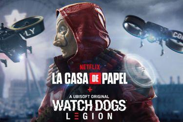Watch Dogs: Legion tendrá un crossover con La Casa de Papel