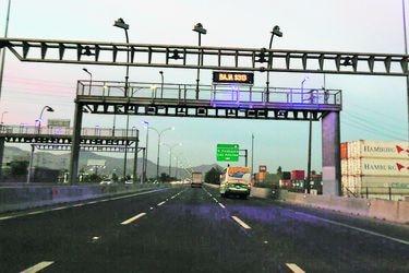 Autopistas urbanas aplican reajuste solo por IPC este año