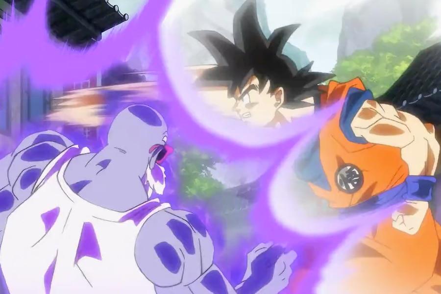 Roshi vs Goku