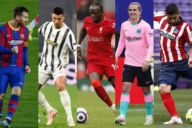 Las cinco estrellas que decepcionaron en la Champions League