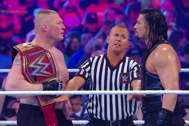 Brock Lesnar arrasó con Roman Reigns a punta de F5