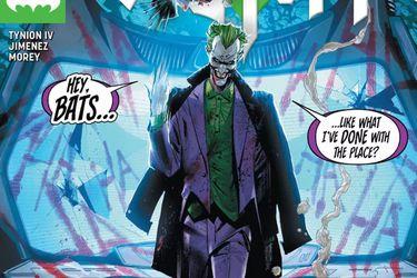 """El payaso se adueña de Industrias Wayne en el adelanto de """"La Guerra del Joker"""""""