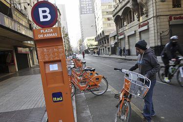 Bicicleteros y ciclovías