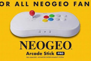 Arcade Stick de NeoGeo incluirá 20 juegos clásicos