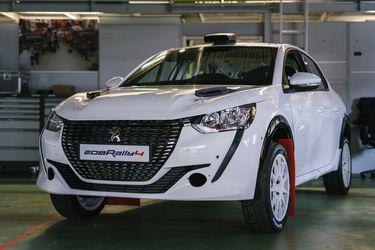 Todavía ni debuta, pero en Peugeot ya celebran los éxitos del nuevo 208 de rally