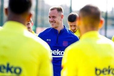 """Ter Stegen se sincera: """"No tengo ni idea de fútbol... a veces me preguntan por el nombre de un jugador y no tengo idea"""""""