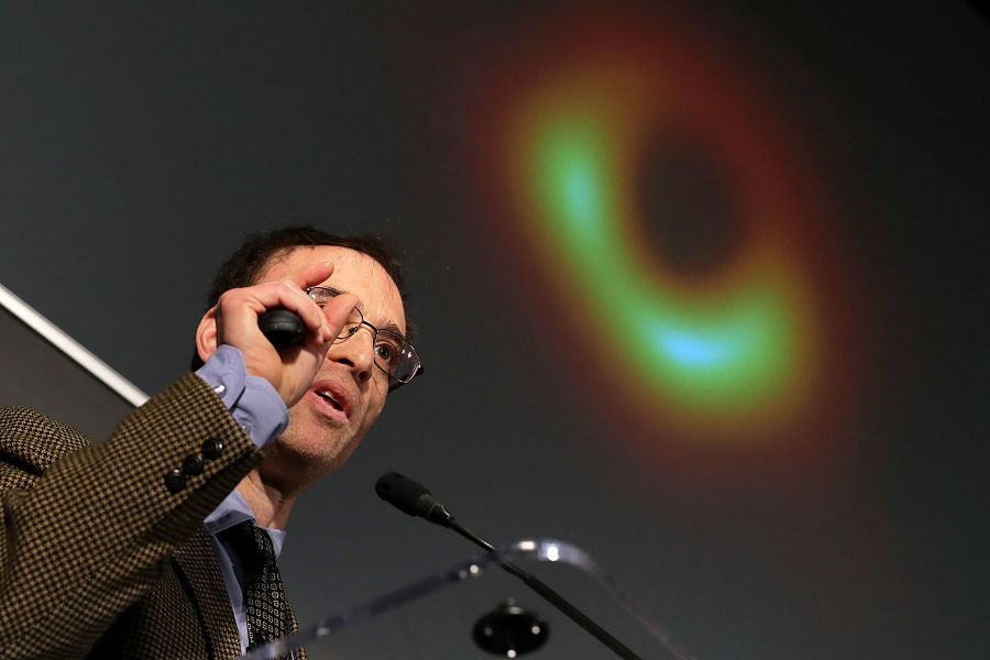 National Science Foundation Holds News Conference On First Results From Event Horizon Telescope Project