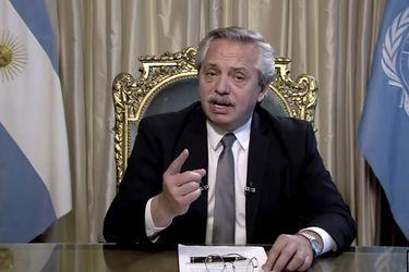 """Fernández pide unas """"Naciones Unidas 4.0"""" y reclama la soberanía de Islas Malvinas"""