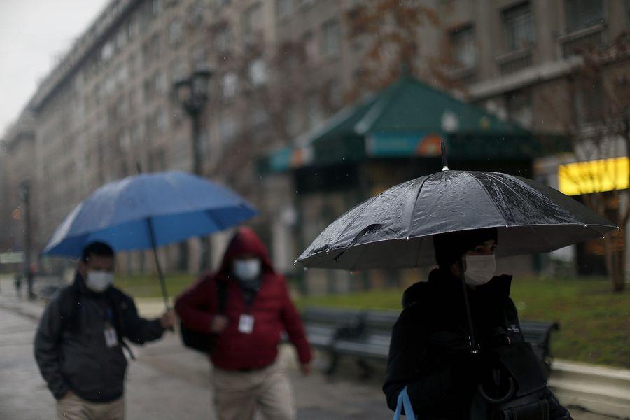 Históricas Lluvias Santiago Anota Récord De Precipitaciones En Enero Desde Que Hay Registros La Tercera