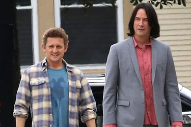 Bill y Ted regresan en nuevas fotos del set de Bill and Ted Face the Music
