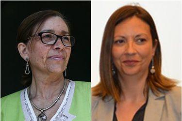 Nivia Palma (PS) y Natalia Piergentili (PPD): quiénes son y por qué lideran los comandos de Paula Narváez y Heraldo Muñoz