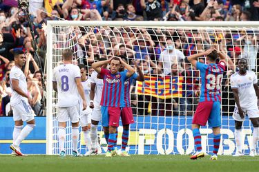 Sin Messi no es lo mismo: Barcelona pierde el clásico ante el Real Madrid