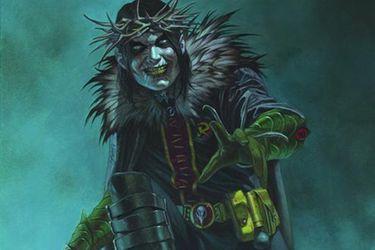 Aquí tienen el primer vistazo a Robin King, el nuevo villano de Dark Nights: Death Metal