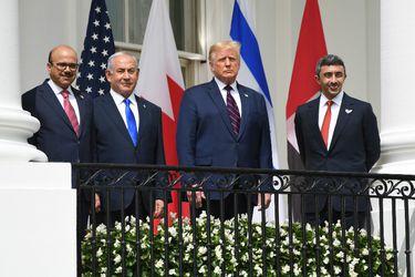 Emiratos Árabes Unidos y Bahrein firman acuerdo para establecer relaciones diplomáticas con Israel en la Casa Blanca