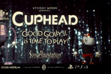 Cuphead llegará hoy a PS4