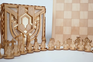Fanática crea increíble ajedrez basado en League of Legends