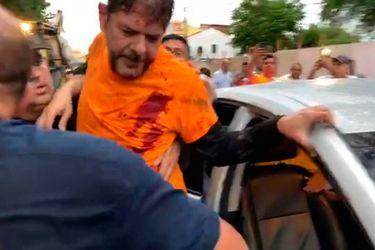 Senador opositor herido de bala en protesta de policías en Brasil