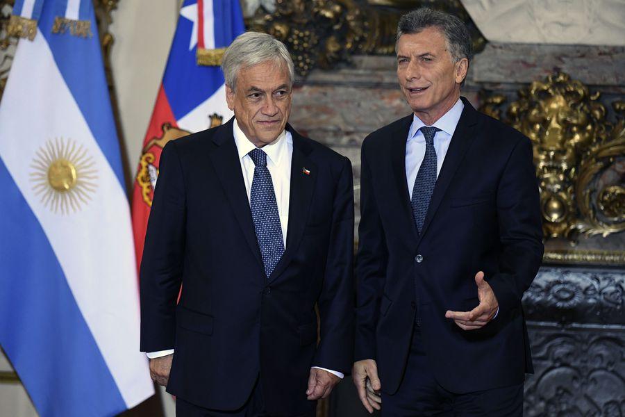 ARGENTINA-CHILE-MACRI-PINERA