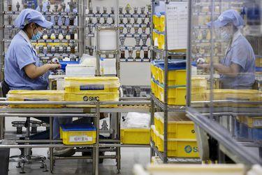 La actividad industrial se acelera en China con ayuda de la demanda externa