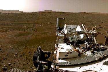 Marte en HD: Perseverance envía su primera imagen en alta resolución