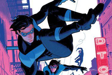 Uno de los próximos números del cómic de Nightwing será una gran escena continua