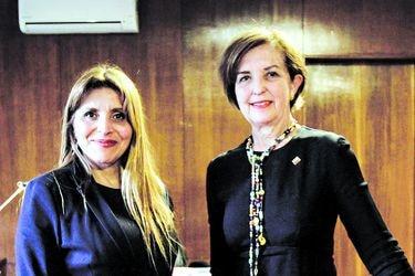 """Gloria Hutt y Pamela Gidi por críticas de Movistar a concurso 5G: """"Tenemos confianza en que todos los aspectos de competencia ya han sido validados"""""""