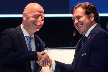 Alejandro Domínguez, Gianni Infantino, FIFA, COnmebol