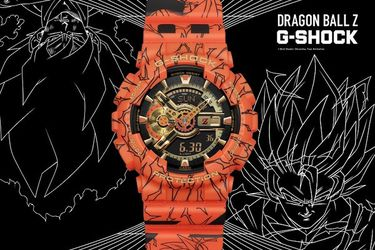 Casio anuncia reloj basado en Dragon Ball Z