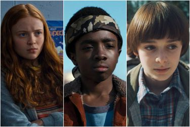 Max, Lucas y Will de Stranger Things estarán en Argentina Comic-Con